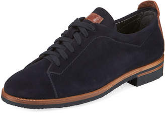 Gravati Suede Lace-Up Oxfords