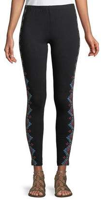 Johnny Was Sonoma Embroidered Leggings