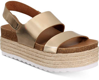 Chinese Laundry Peyton Espadrille Flatform Sandals Women Shoes