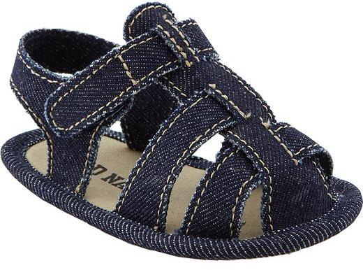 Old Navy Soft-Sole Fisherman Sandals for Baby