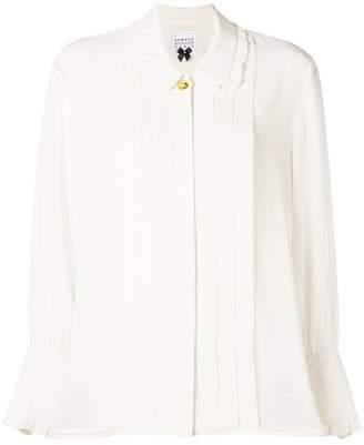 Edward Achour Paris ruffled blouse
