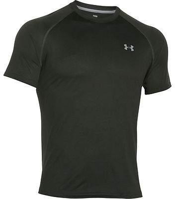 Under Armour Tech T-Shirt - Men's Artillery Green/Steel/Steel L