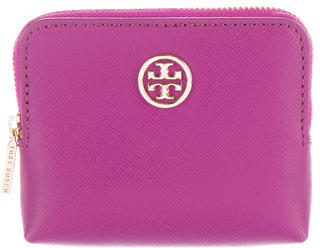 Tory BurchTory Burch Leather Zip Pouch
