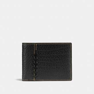 Coach New YorkCoach Rip And Repair Slim Billfold Wallet