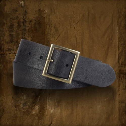 Denim & Supply Leather Trench Buckle Belt