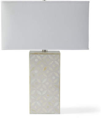 Serena & Lily Portland Bone Inlay Table Lamp