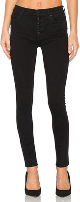 Hudson Jeans Ciara High Rise Exposed Button $175 thestylecure.com