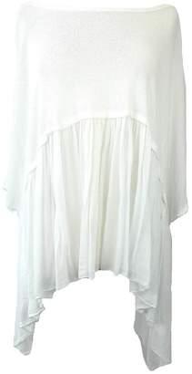 Oasis Fashion Ladies Italian Loose Fit Asymmetrical Lagenlook Boho Top Tunic