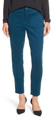 Chaus Straight Leg Corduroy Pants