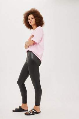 Topshop Stretch pu pants