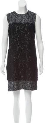 Dolce & Gabbana Tweed Sleeveless Dress w/ Tags