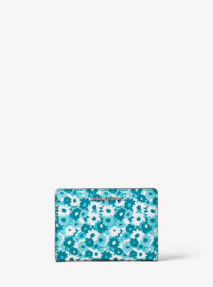 Michael Kors Jet Set Medium Carnation Slim Wallet