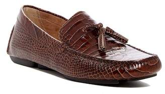 Donald J Pliner Vincent N5 Croc Embossed Leather Loafer