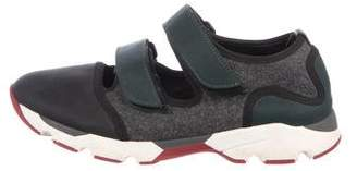Marni Wool Low-Top Sneakers