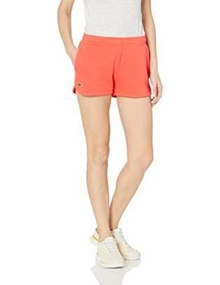 Lacoste Women's Fleece Drawstring Tennis Shorts