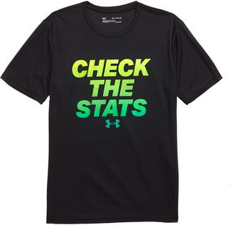 Under Armour Check the Stats HeatGear(R) Graphic T-Shirt