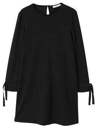 MANGO Contrast sleeve dress