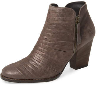 Paul Green Metallic Brown Bootie