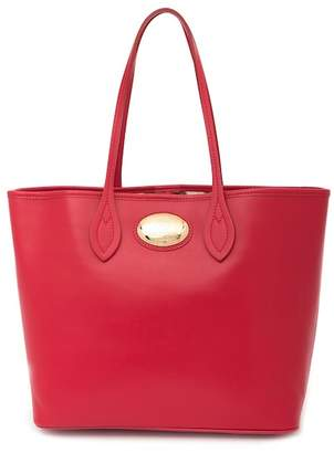 Roberto Cavalli Leather Tote Bag