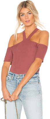 Michael Lauren Bodhi Open Shoulder Tee