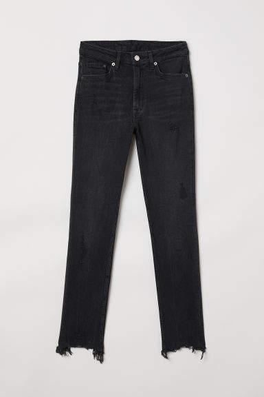 H&M - Skinny High Ankle Jeans - Black