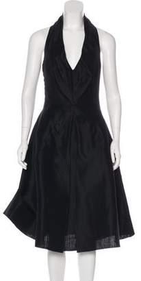 Dolce & Gabbana A-Line Halter Dress