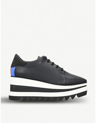 Stella McCartney Elyse faux-leather platform shoes