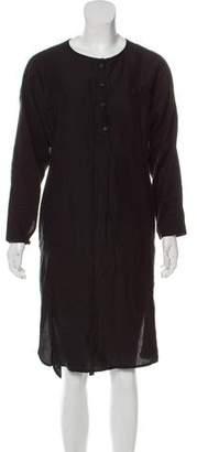 Creatures of Comfort Silk Midi Dress