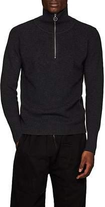 Barena Venezia Men's Virgin Wool Half-Zip Sweater