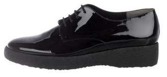 Rob-ert Robert Clergerie Patent Leather Lace-Up Oxfords w/ Tags