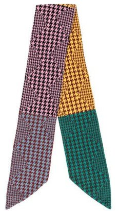 Paul Smith Wool Houndstooth Scarf $70 thestylecure.com
