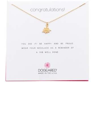 Dogeared Congratulations Pow Pendant Necklace