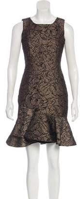 Calvin Klein Sleeveless Brocade Dress
