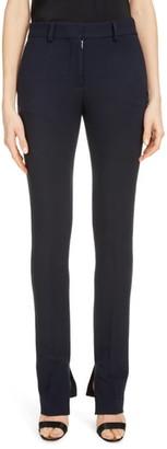 Victoria Beckham Split Hem Skinny Pants