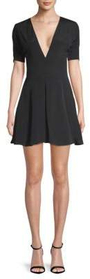 Privacy Please Virgina Lace-Up Mini Dress