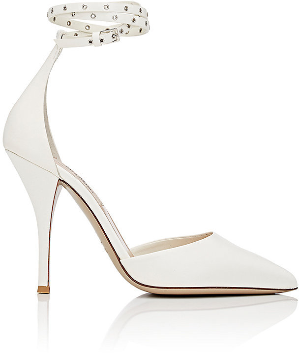 "Valentino Valentino VALENTINO WOMEN'S ""LOVE LATCH"" ANKLE-STRAP PUMPS"