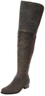 Charles by Charles David Women's Giza Suede Over The Knee Boot