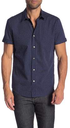 Parke & Ronen Biscayne Printed Short Sleeve Slim Fit Shirt