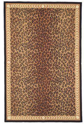 Leopard Vine Rug