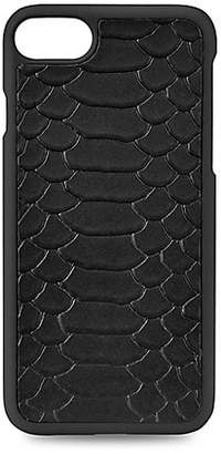 GiGi New York Python-Embossed Leather iPhone 7 Case