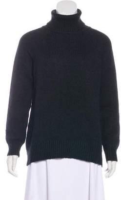 Velvet Turtleneck Long Sleeve Sweater w/ Tags