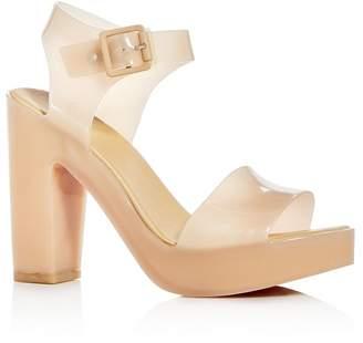 Melissa Women's Mar Block-Heel Platform Sandals