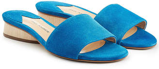 Paul Andrew Suede Mule Sandals
