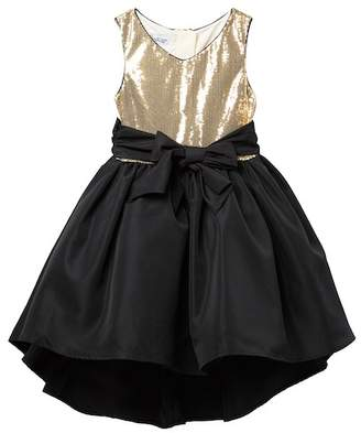 Pippa & Julie Sequin & Black Dress (Big Girls)