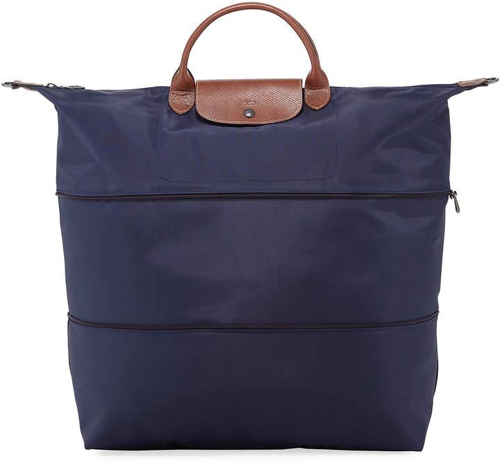 Longchamp Le Pliage Expandable Travel Bag - DARK BLUE - STYLE