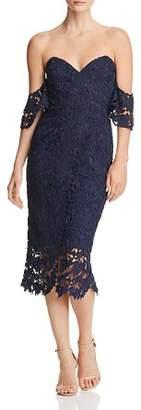 Cooper & Ella SAU LEE Ella Off-the-Shoulder Lace Dress