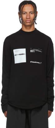 Julius Black Mesh Long Sleeve T-Shirt