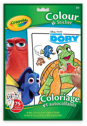 Crayola Finding Dory Colour and Sticker Book