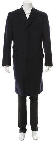 Paul SmithPaul Smith Wool Three Button Coat
