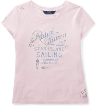Ralph Lauren Cotton Jersey Sailing T-Shirt